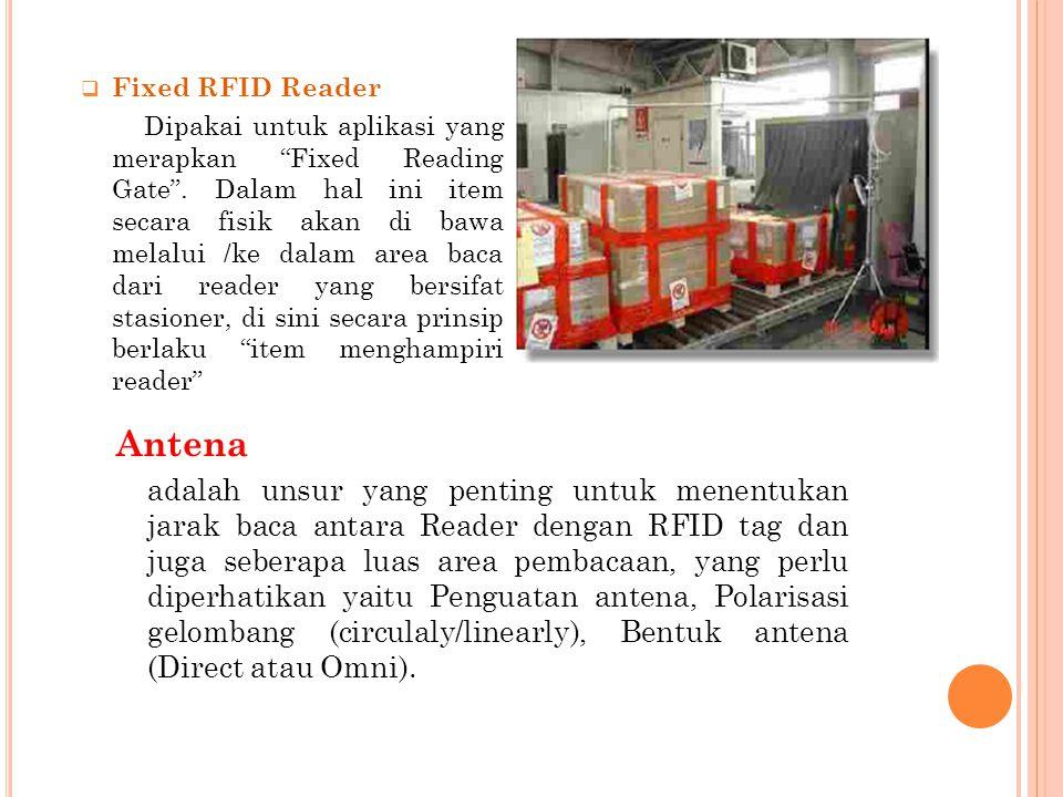 Antena Fixed RFID Reader