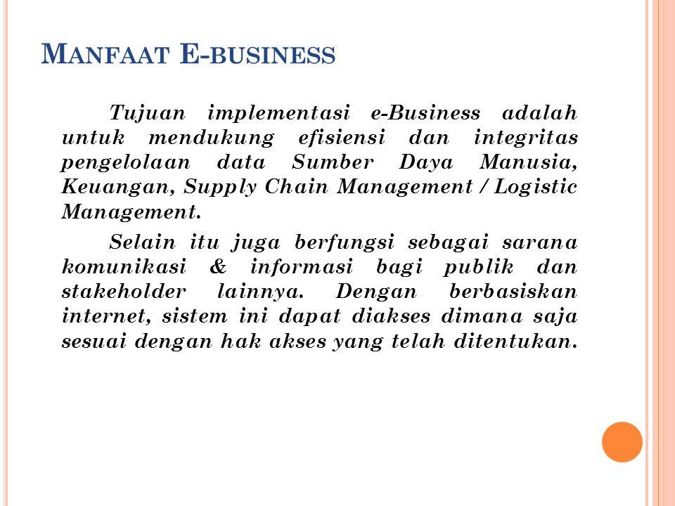 Manfaat E-business