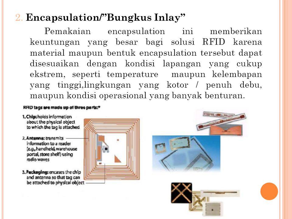 2. Encapsulation/ Bungkus Inlay