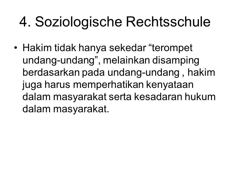 4. Soziologische Rechtsschule