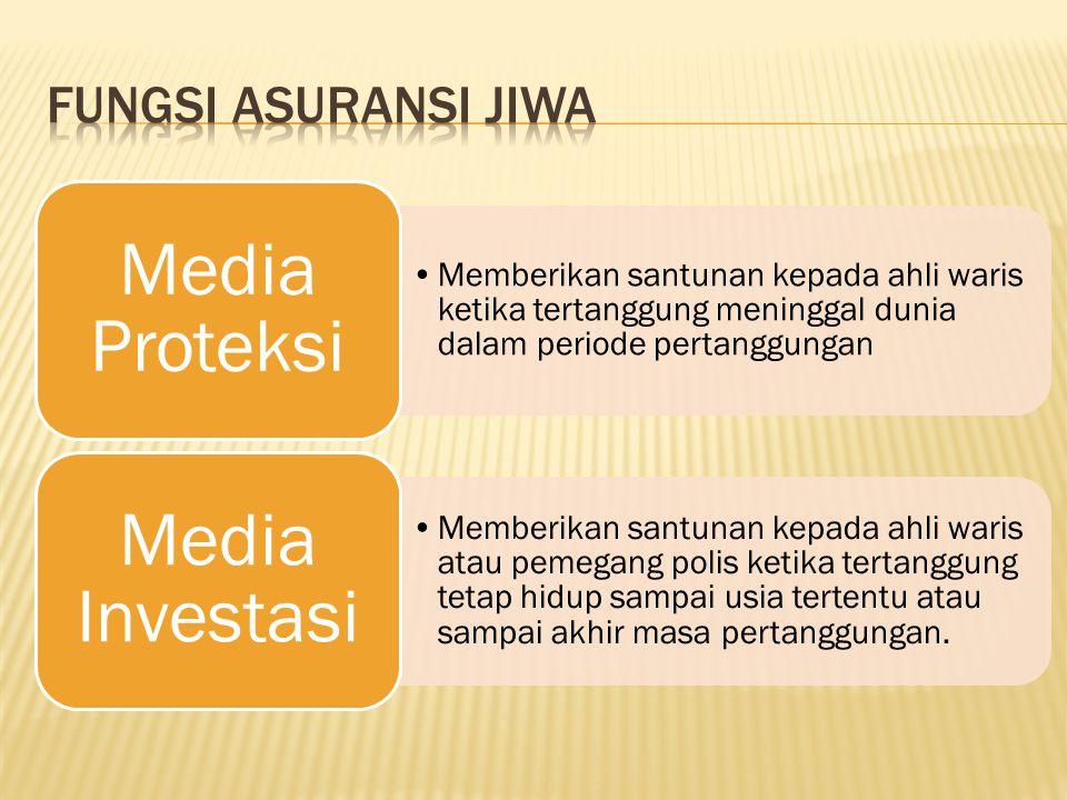 Fungsi Asuransi Jiwa Media Proteksi