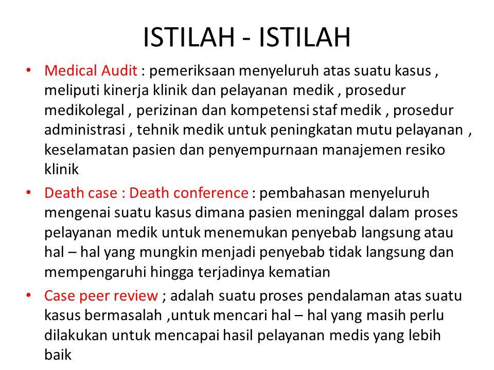 Audit Klinis Di Rumah Sakit Ppt Download