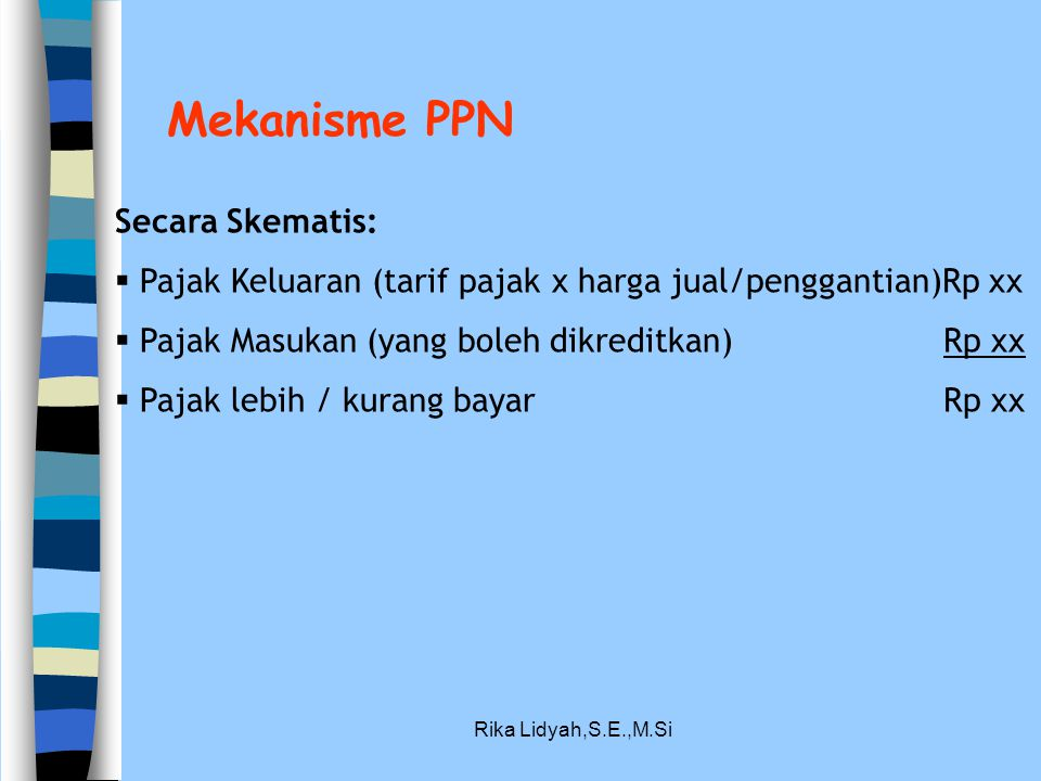 Mekanisme PPN Secara Skematis: