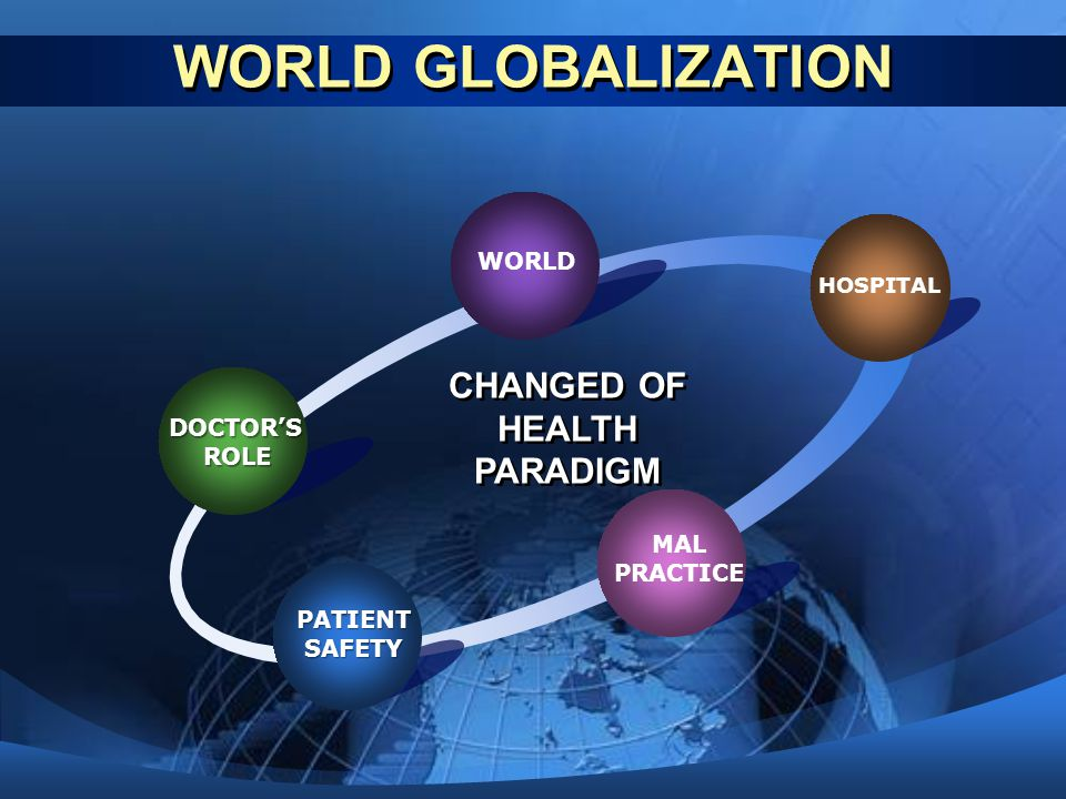 CHANGED OF HEALTH PARADIGM