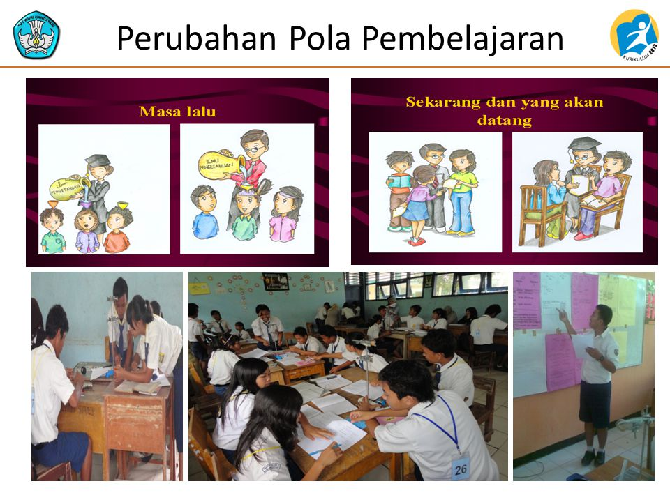 Perubahan Pola Pembelajaran