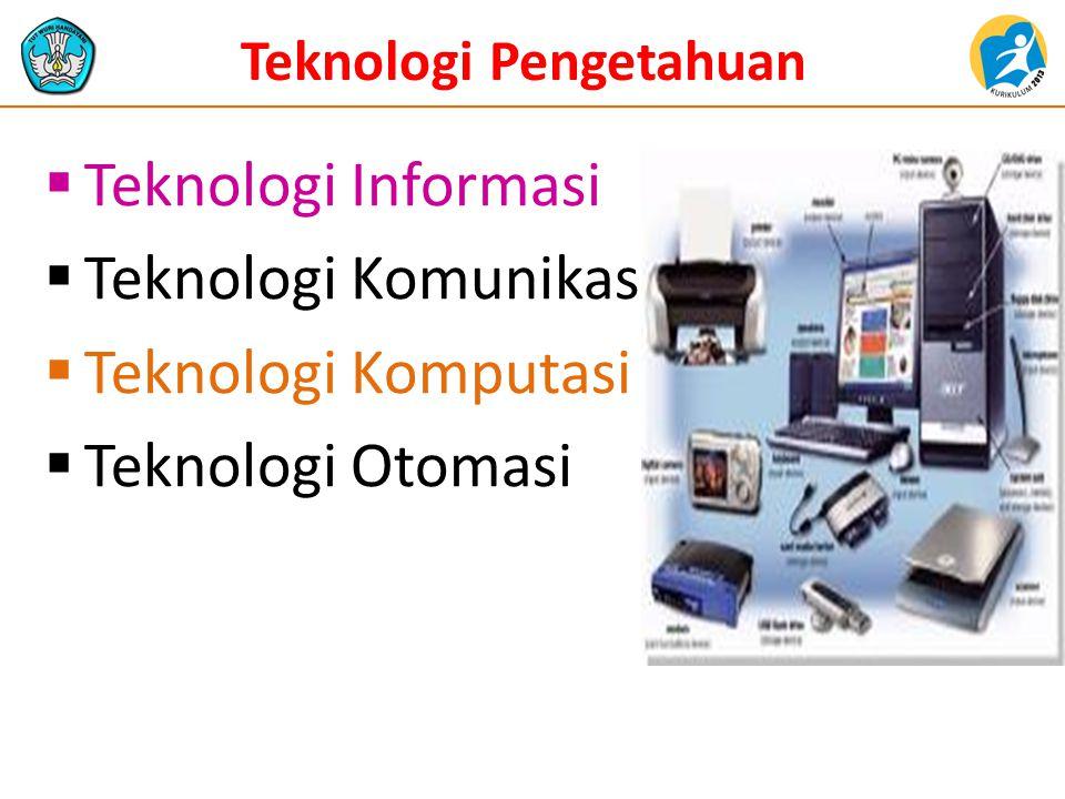 Teknologi Pengetahuan