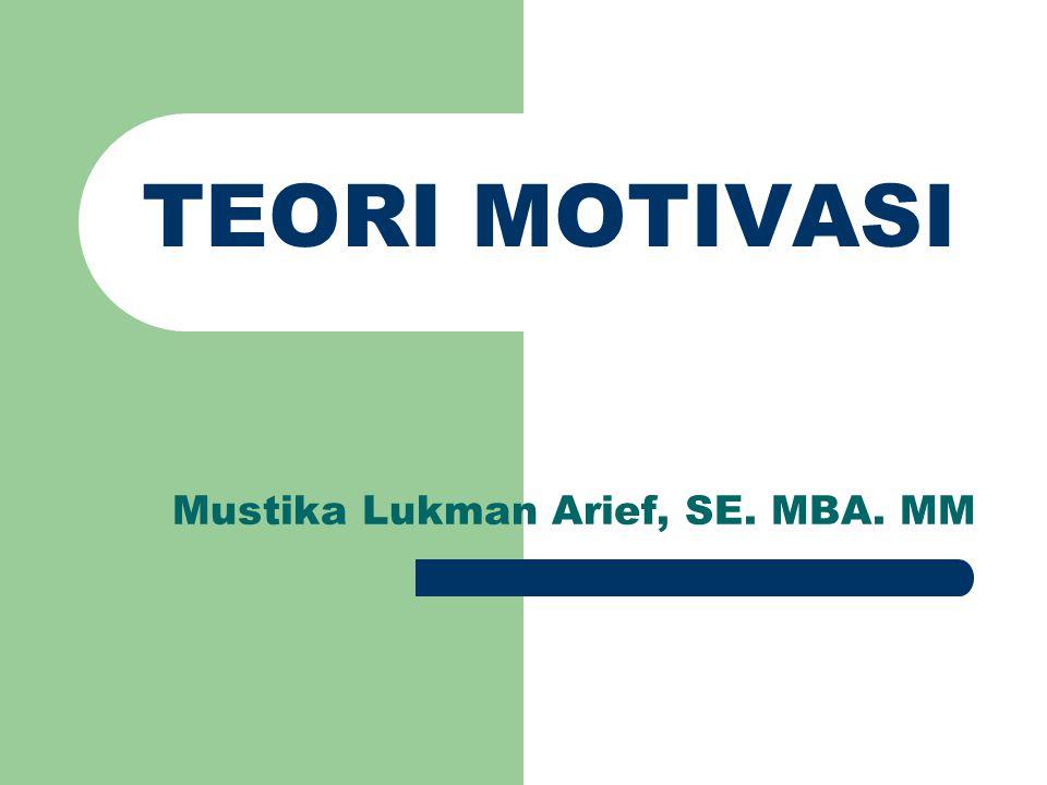 Mustika Lukman Arief, SE. MBA. MM