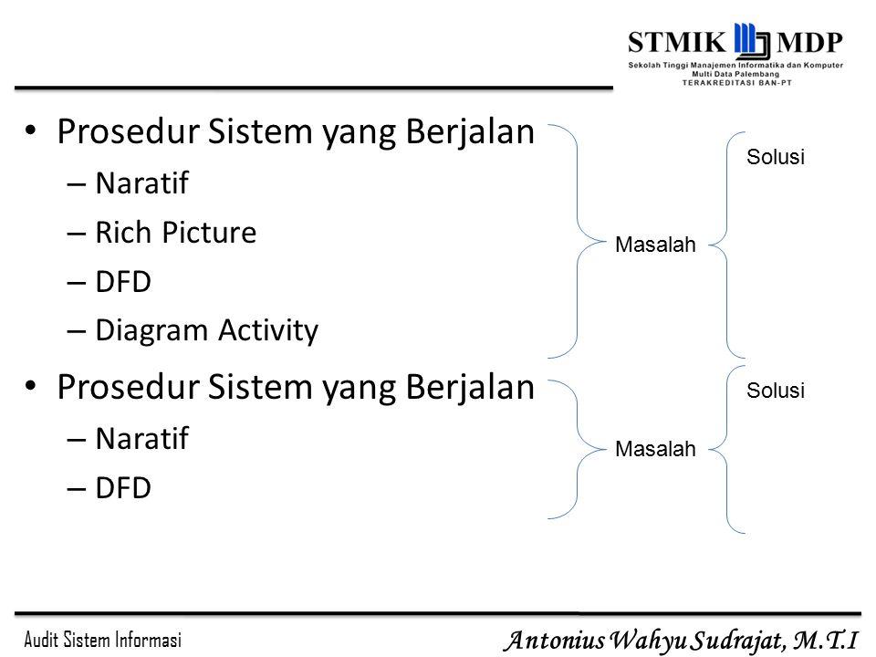 Prosedur Sistem yang Berjalan