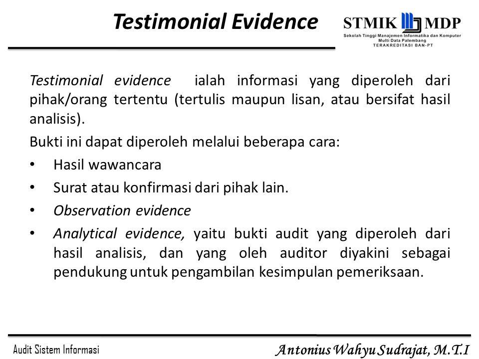 Testimonial Evidence