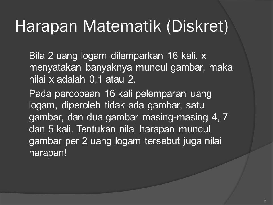 Harapan Matematik (Diskret)