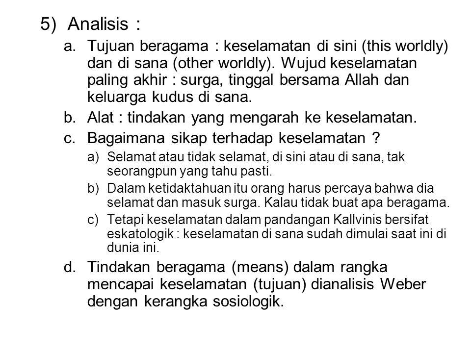 Analisis :