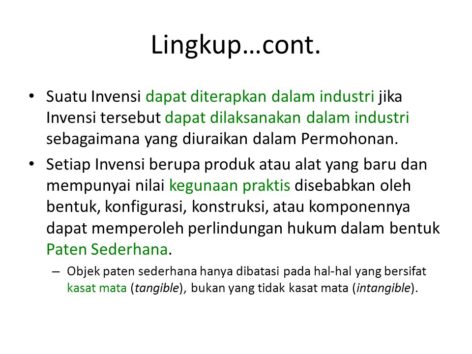 Lingkup…cont.