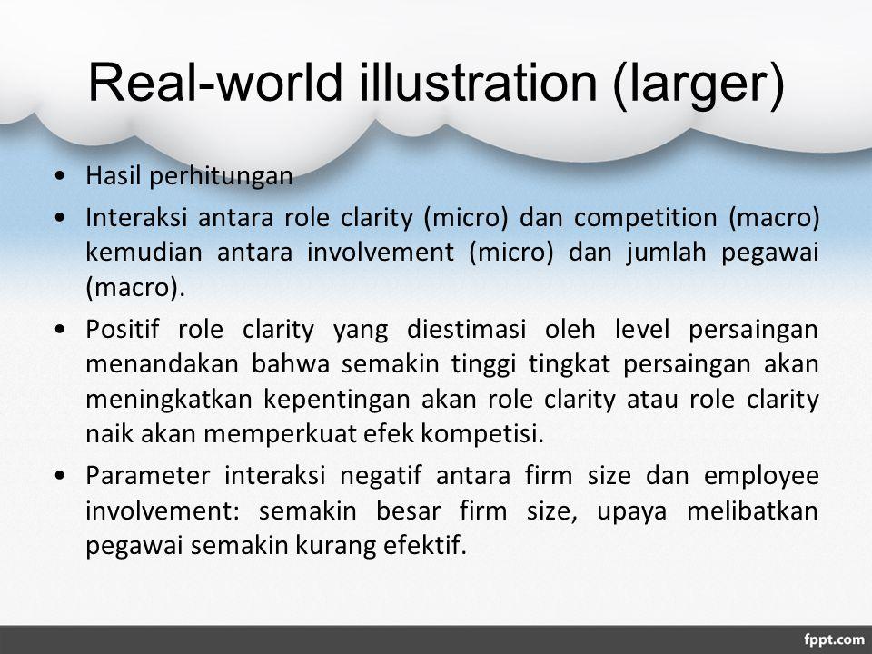 Real-world illustration (larger)