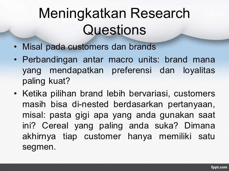Meningkatkan Research Questions