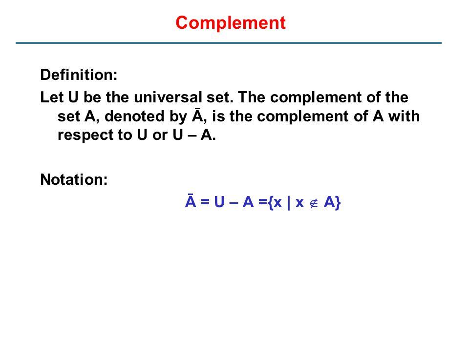Complement Definition: