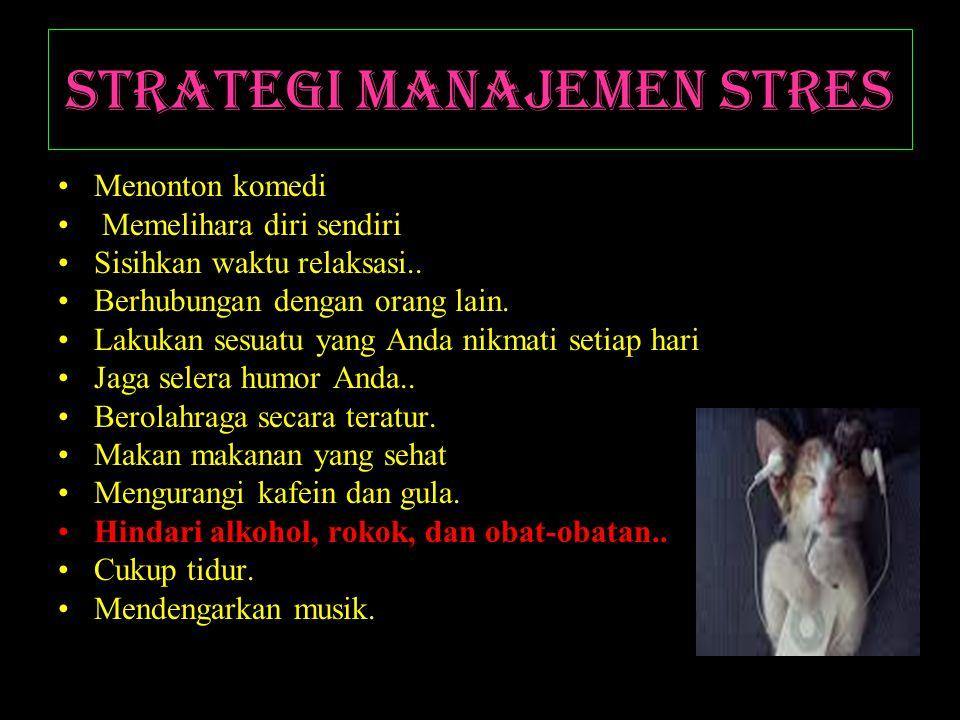 Strategi Manajemen Stres