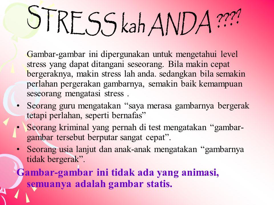 STRESS kah ANDA