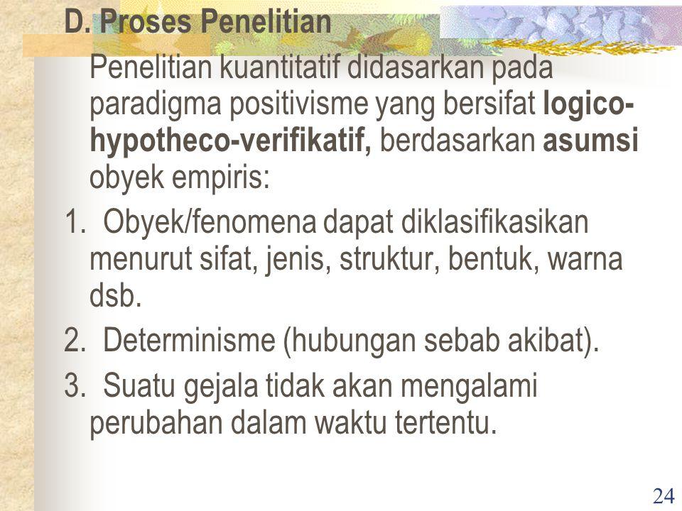 D. Proses Penelitian