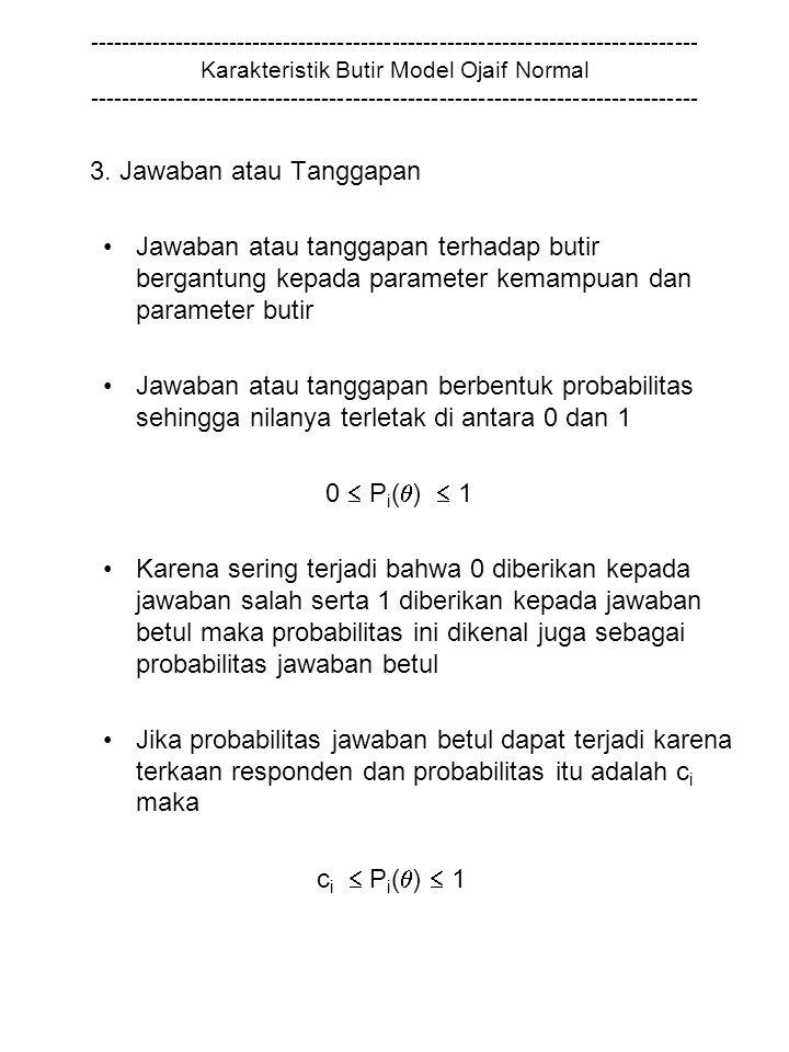 3. Jawaban atau Tanggapan