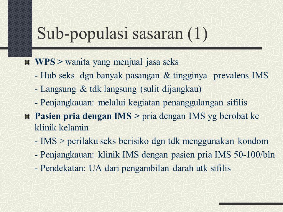 Sub-populasi sasaran (1)
