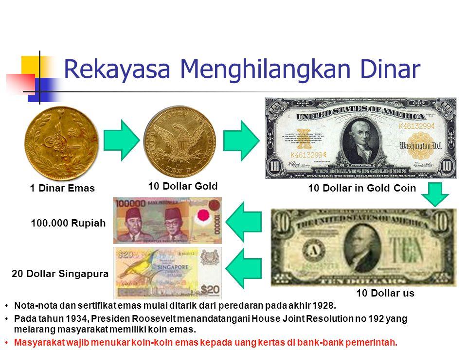 Rekayasa Menghilangkan Dinar