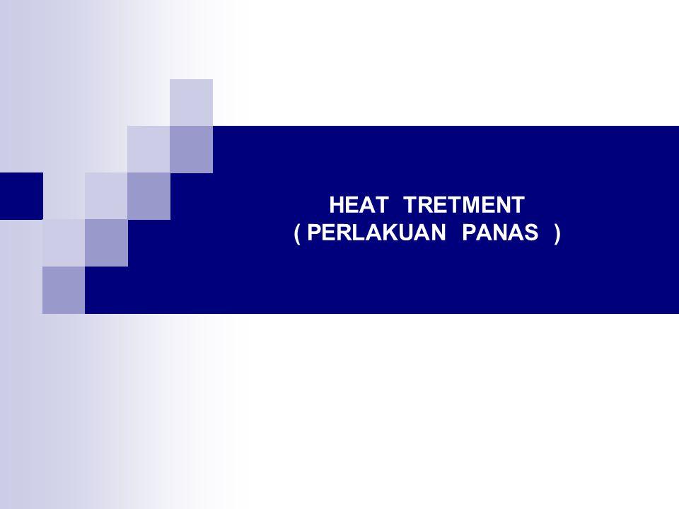 HEAT TRETMENT ( PERLAKUAN PANAS )