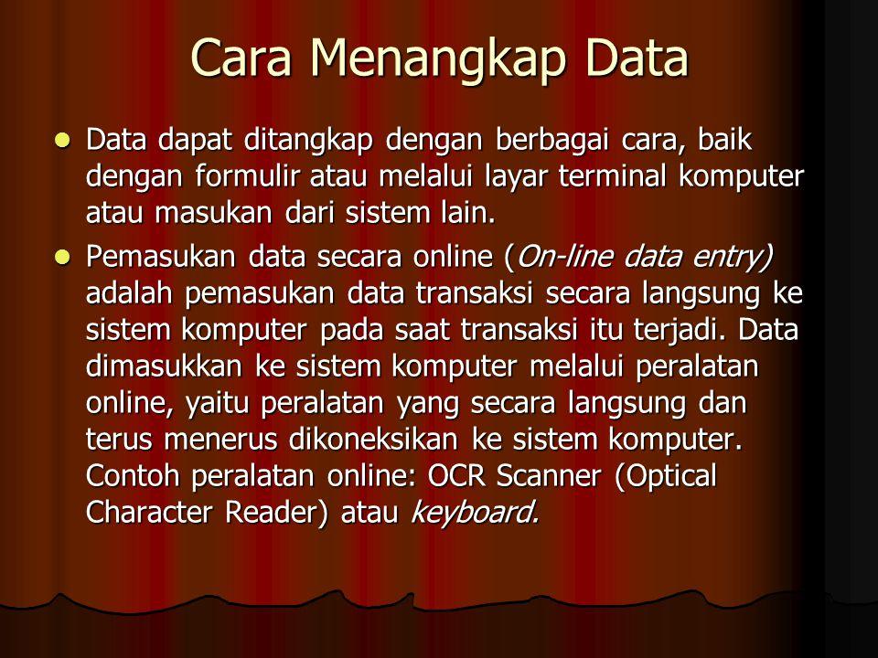 Cara Menangkap Data