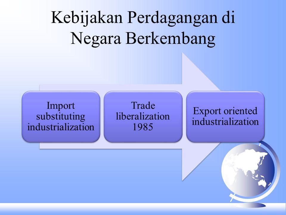 Kebijakan Perdagangan di Negara Berkembang