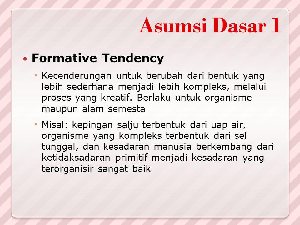 Asumsi Dasar 1 Formative Tendency
