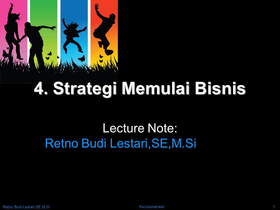 4. Strategi Memulai Bisnis