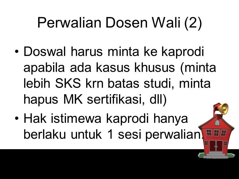 Perwalian Dosen Wali (2)