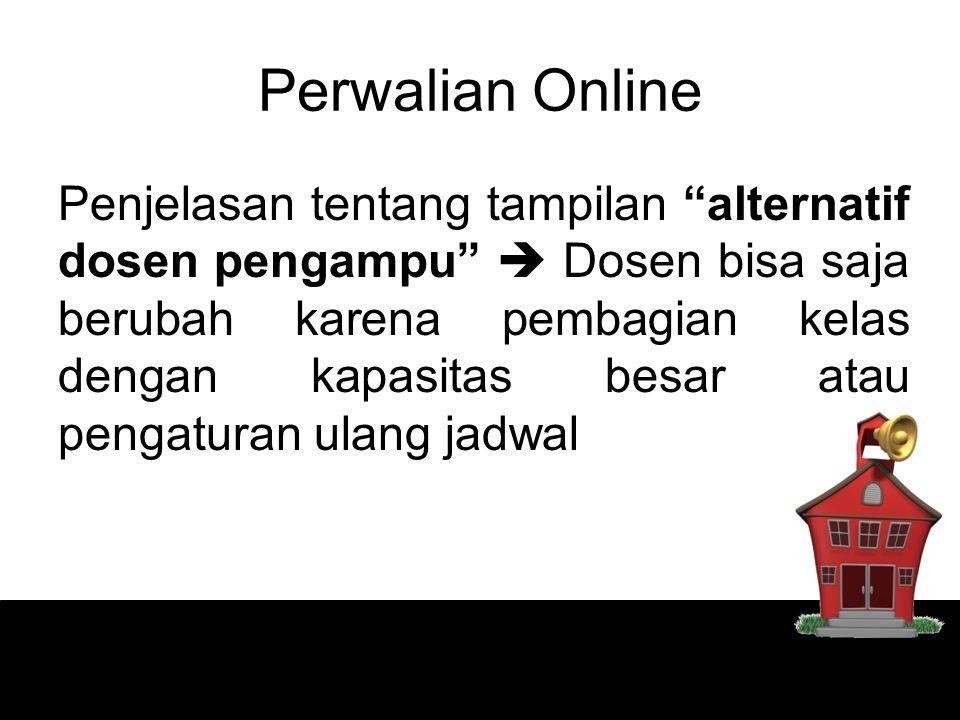 Perwalian Online