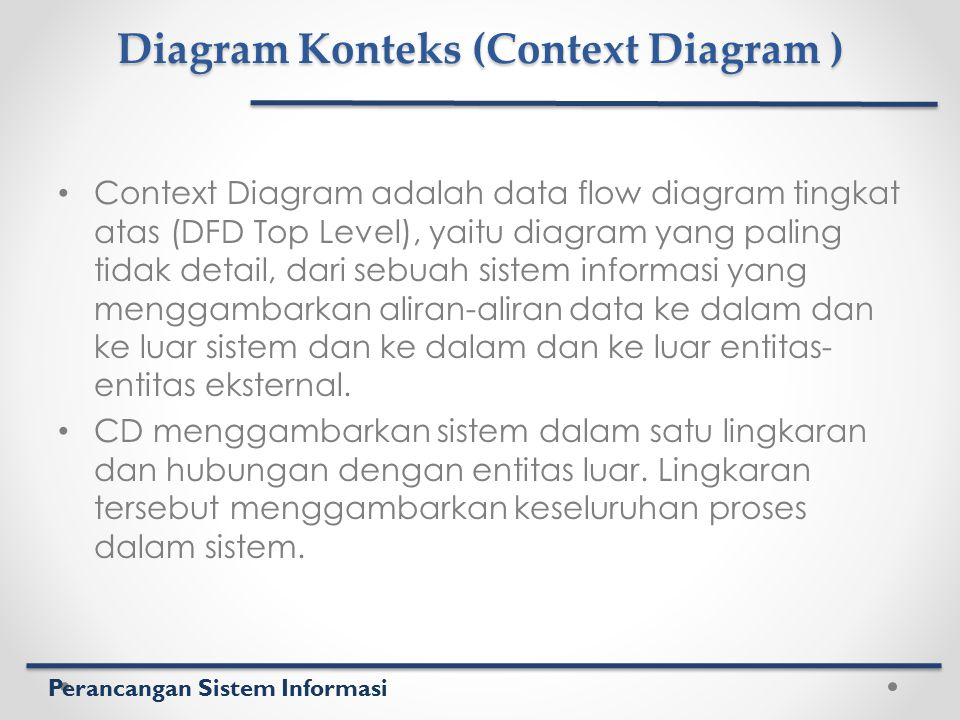 Diagram Konteks (Context Diagram )