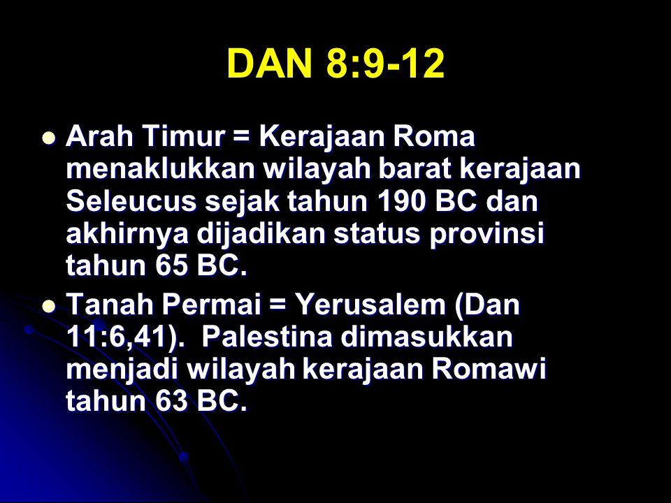 DAN 8:9-12