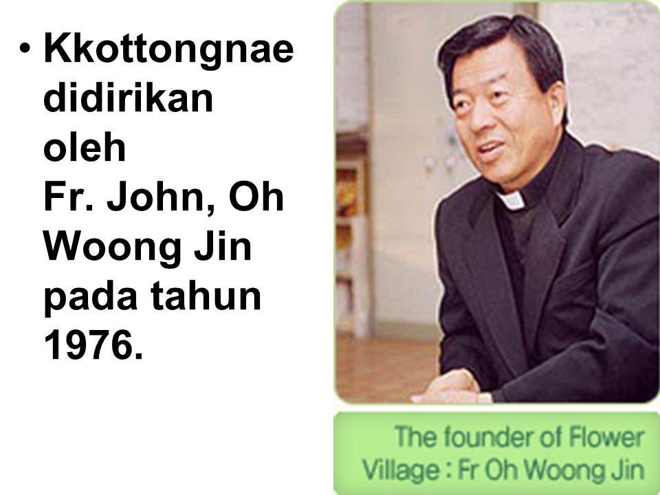 Kkottongnae didirikan oleh Fr. John, Oh Woong Jin pada tahun 1976.