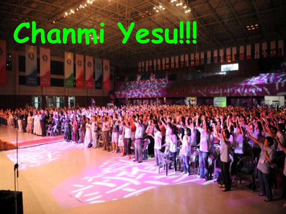 Chanmi Yesu!!!