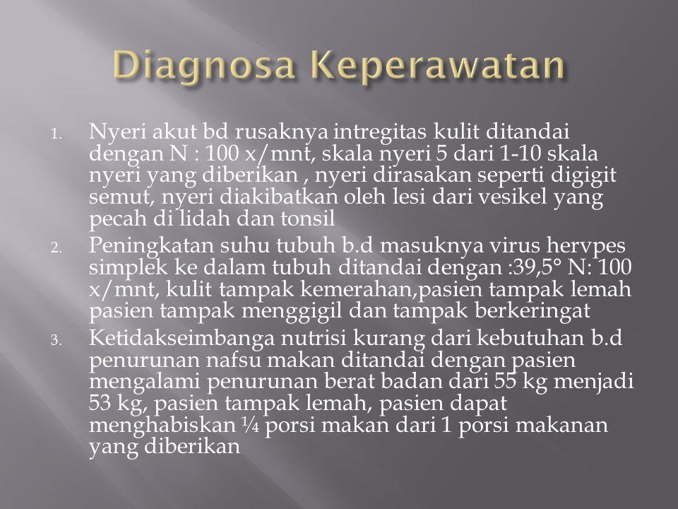 Diagnosa Keperawatan