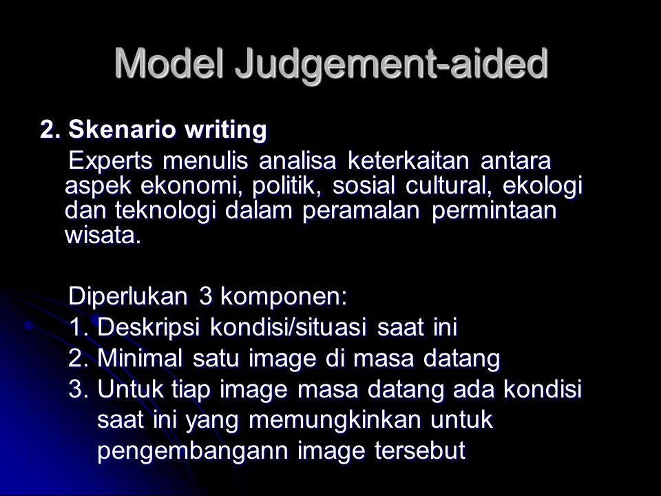 Model Judgement-aided