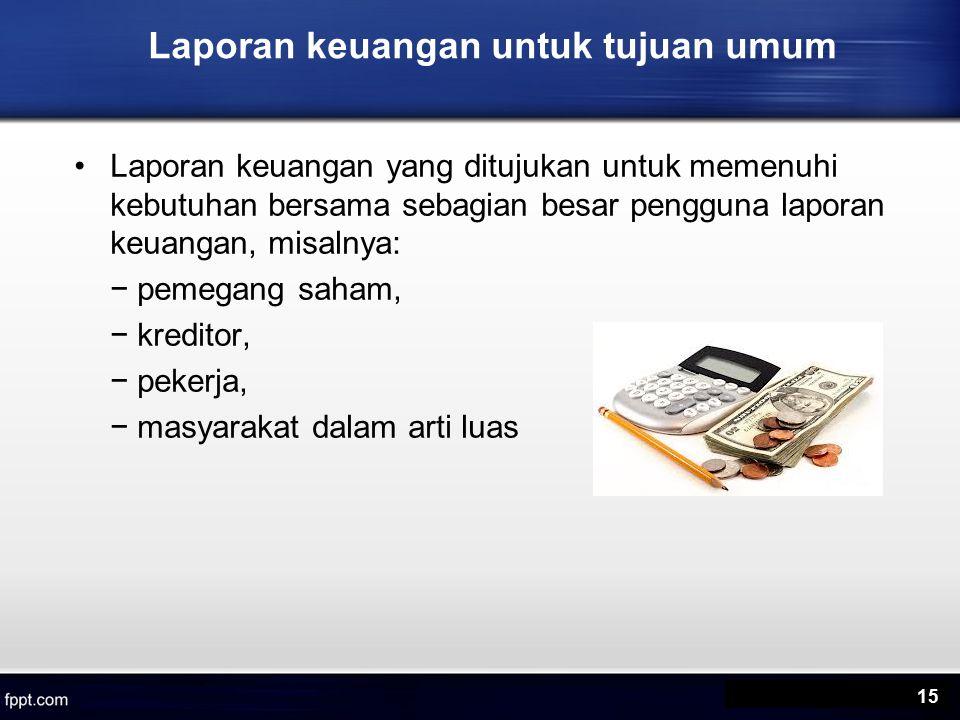 Laporan keuangan untuk tujuan umum