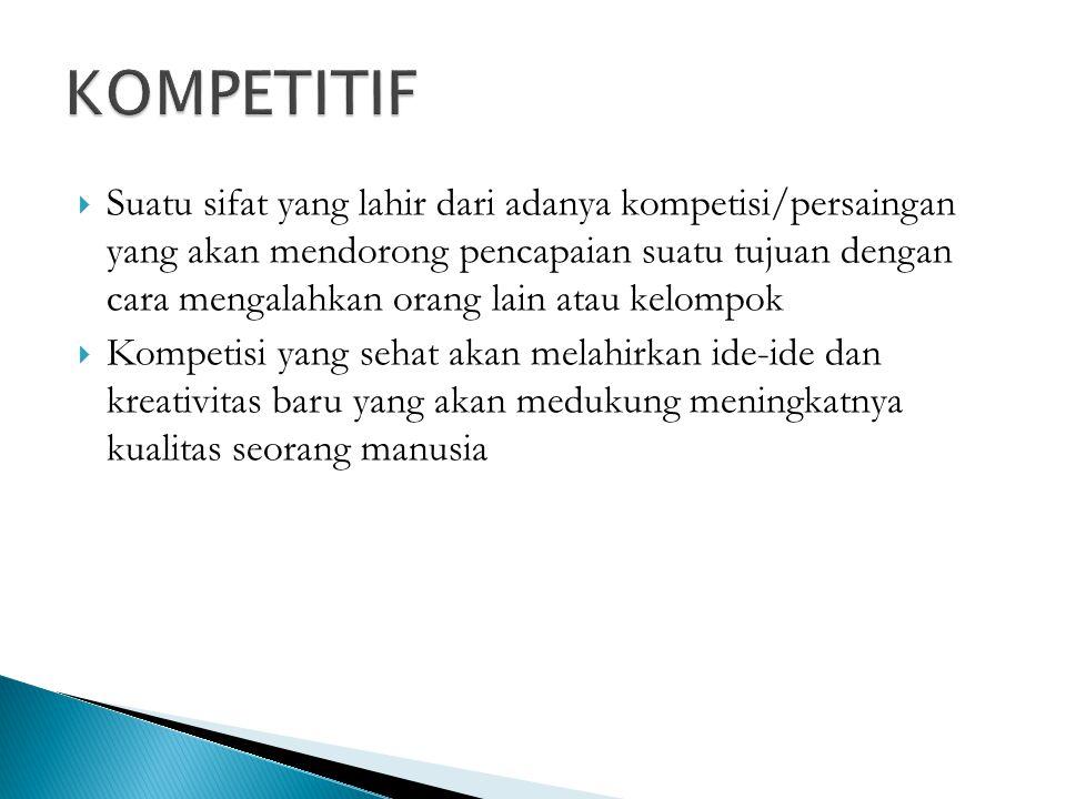 KOMPETITIF