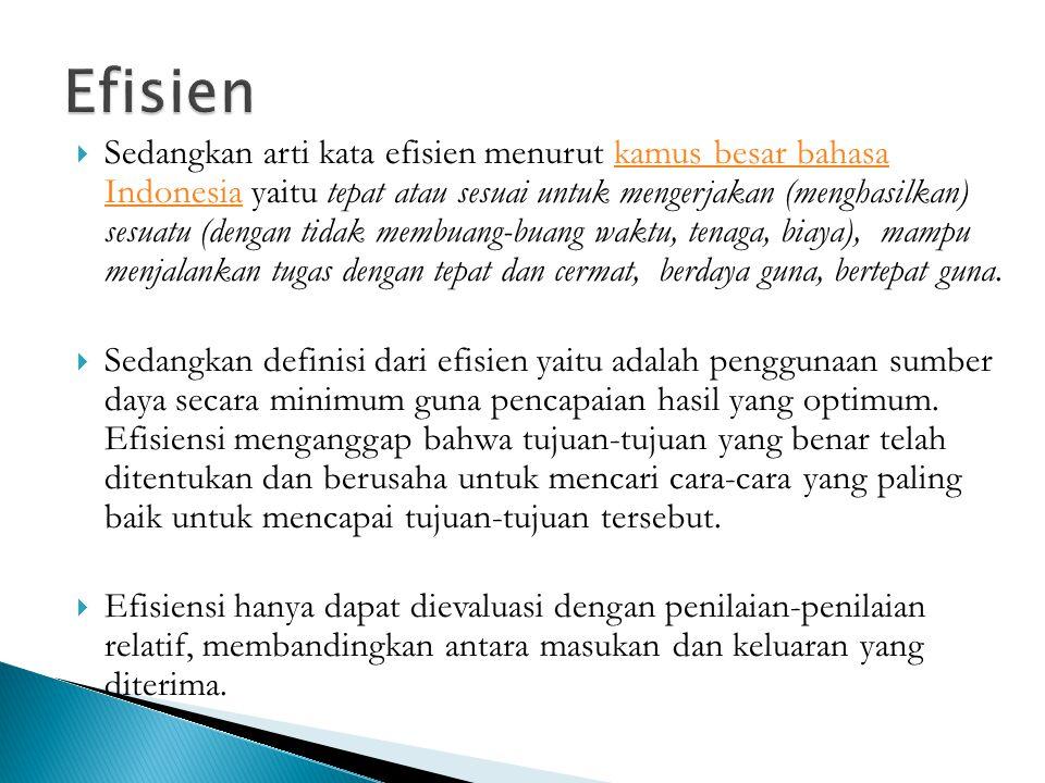 Efisien