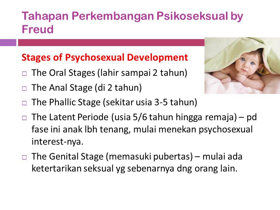 Tahapan Perkembangan Psikoseksual by Freud