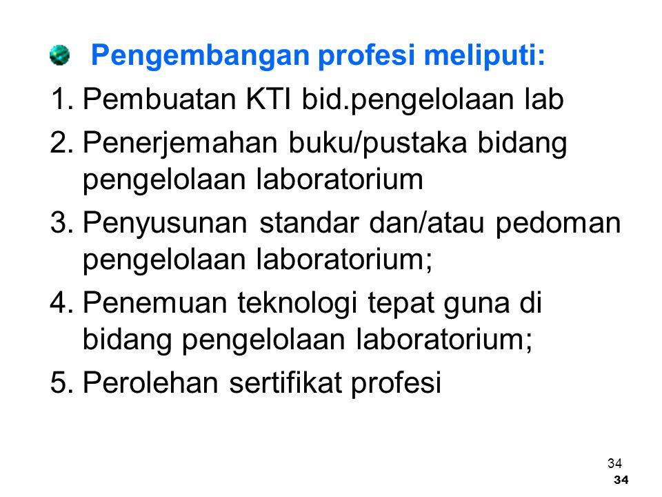 Pembuatan KTI bid.pengelolaan lab
