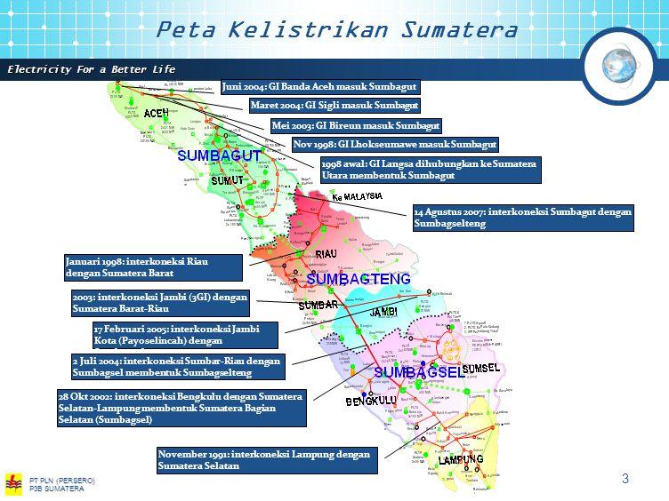 Peta Kelistrikan Sumatera
