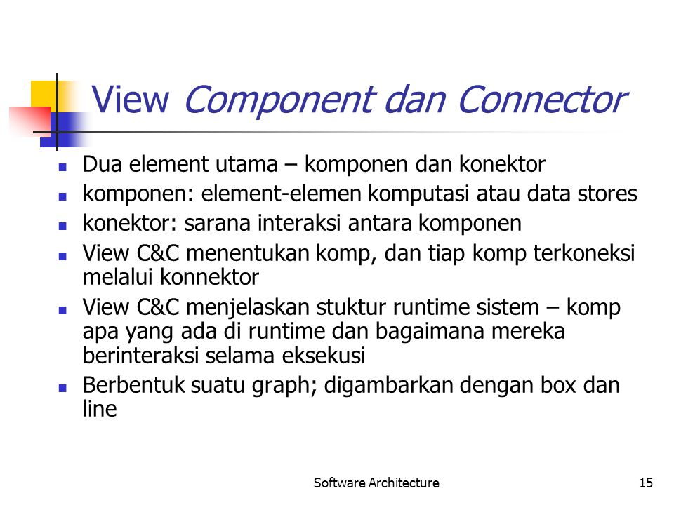 View Component dan Connector
