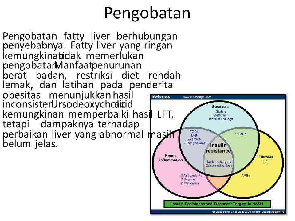 Pengobatan Pengobatan fatty liver berhubungan