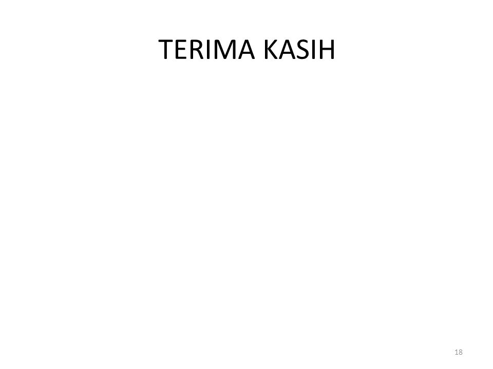 TERIMA KASIH 18