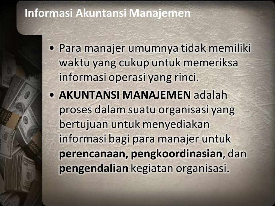 Informasi Akuntansi Manajemen