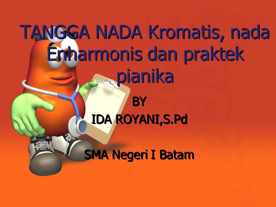 TANGGA NADA Kromatis, nada Enharmonis dan praktek pianika