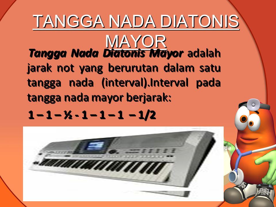 TANGGA NADA DIATONIS MAYOR